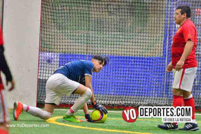 Hidalgo Veracruz blanqueó al Atlético San Miguel en la Liga 5 de Mayo