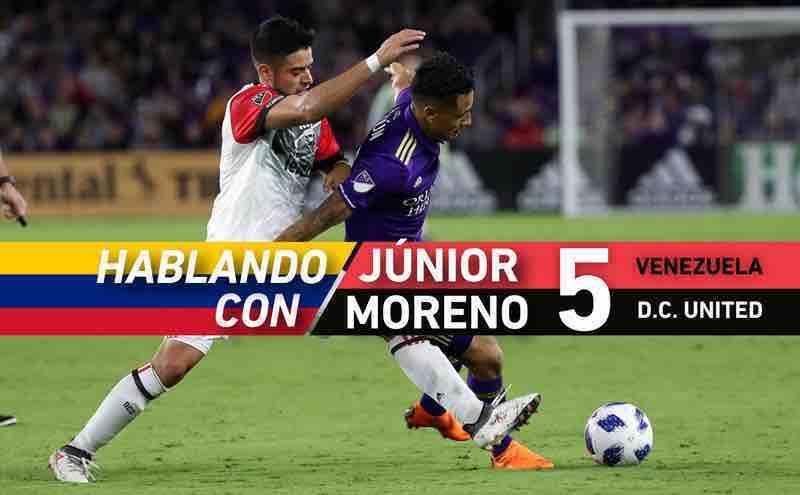 Entrevista con Junior Moreno un venezolano en la MLS