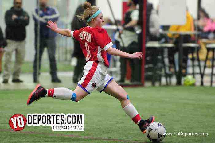 La Juve-United-AKD Premier Academy Soccer League-futbol femenino