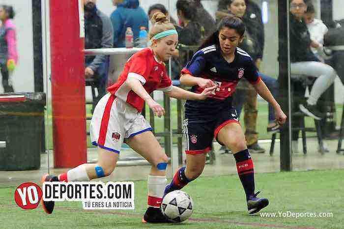 La Juve a la final tras empatar con United en AKD premier Academy Soccer League