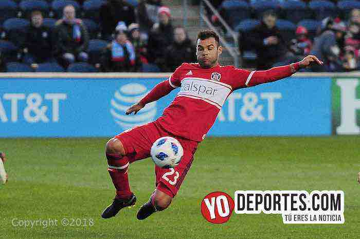 Nemanja Nikolic-Chicago Fire-Sporting Kansas City