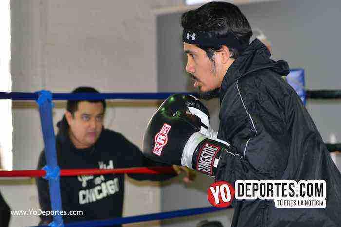Oscar Ortiz debut-Box salomon reyes boxeo