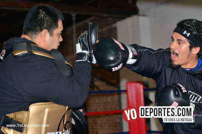 Oscar Ortiz debut como profesional