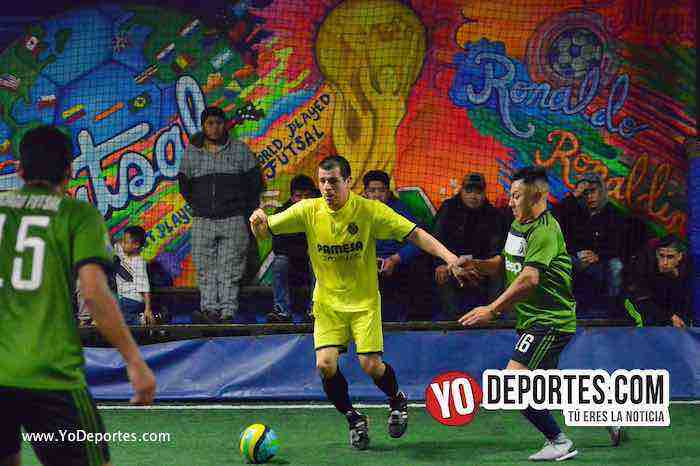 Preciosos-Danger Field-Liga Taximaroa-futbol indoor chicago