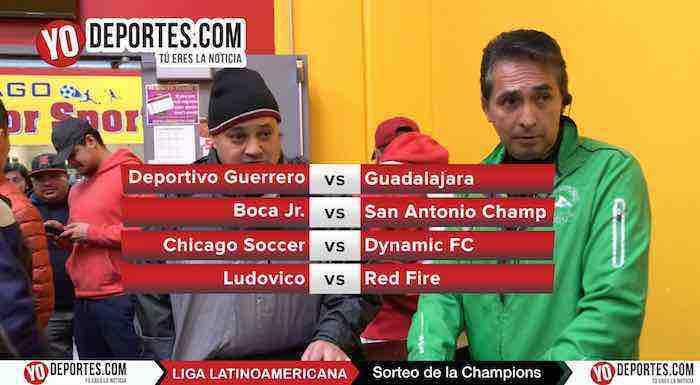 Video del sorteo de cuartos de final Champions Liga Latinoamericana