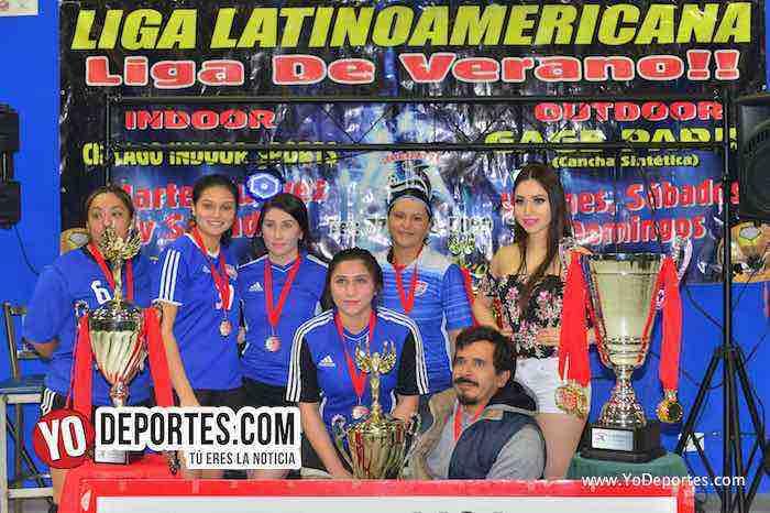Subcampeonas-Monaco-Liga Latinoamericana Lunes-Final Femenil