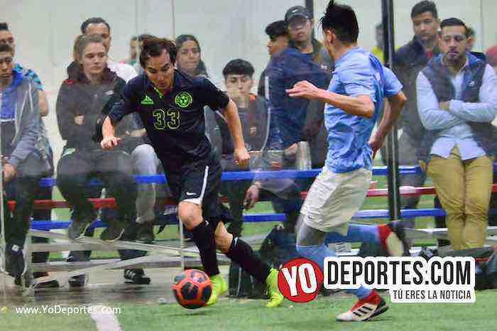 Tony Aguilar-Chicago Soccer contra San Antonio Champions Liga Latinoamericana