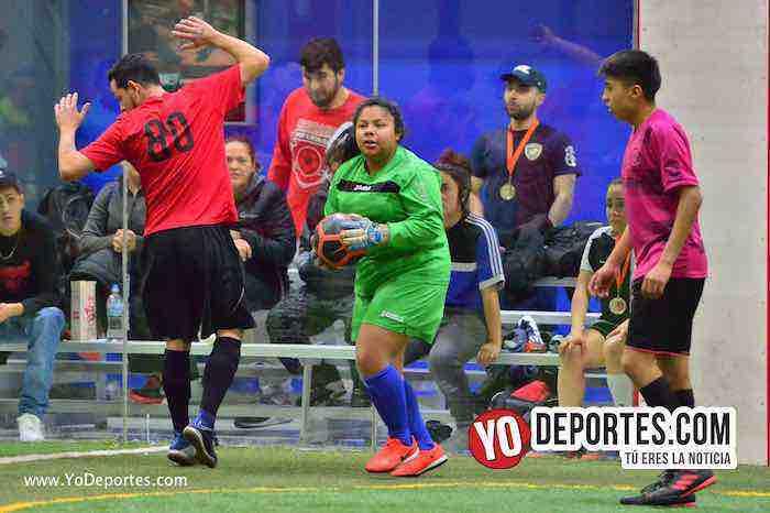 Valencia-America-Liga Latinoamericana- COED-Miercoles-futbol mixto indoor chicago