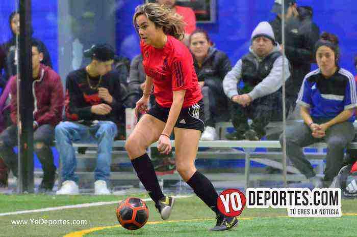 Valencia-America-Liga Latinoamericana- COED-Miercoles-mujeres futbolistas