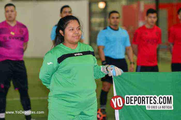 Valencia-America-Liga Latinoamericana- COED-Miercoles-portera-indoor futbol