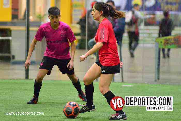 Valencia-America-Liga Latinoamericana-futbol mixto chicago