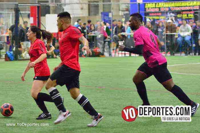 Valencia-America-Liga Latinoamericana-futbol mixto