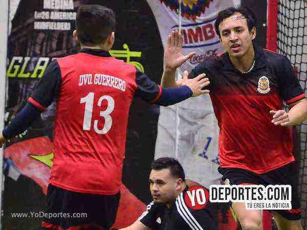 Un gol necesitó Deportivo Guerrero para llegar a la final de la Champions