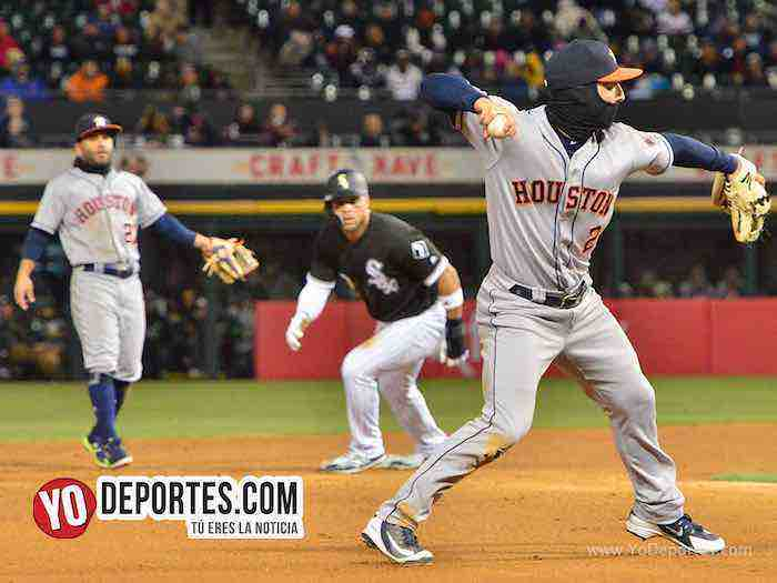 Alex Bergman tercera base-Chicago White Sox-Astros Houston