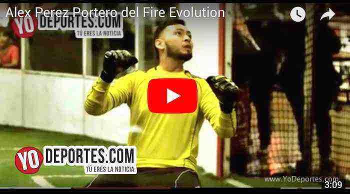 En memoria de Alex Pérez portero del Fire Evolution
