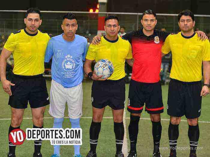 Arbitro Alejandro Aguilar-Leo Zuniga-Manny Duran-Chicago Soccer-Deportivo Guerrero-Champions-Liga Latinoamericana