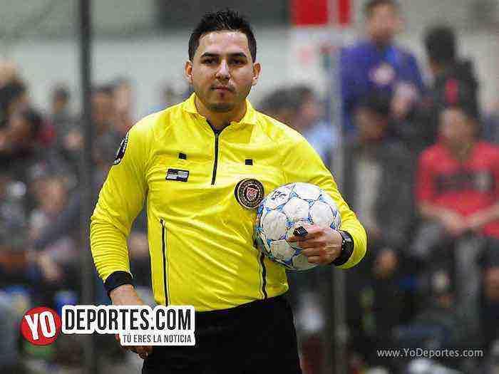 Arbitro Alejandro Aguilar-Valle de Guadalupe-Liverpol-Liga Latinoamericana-veteranos