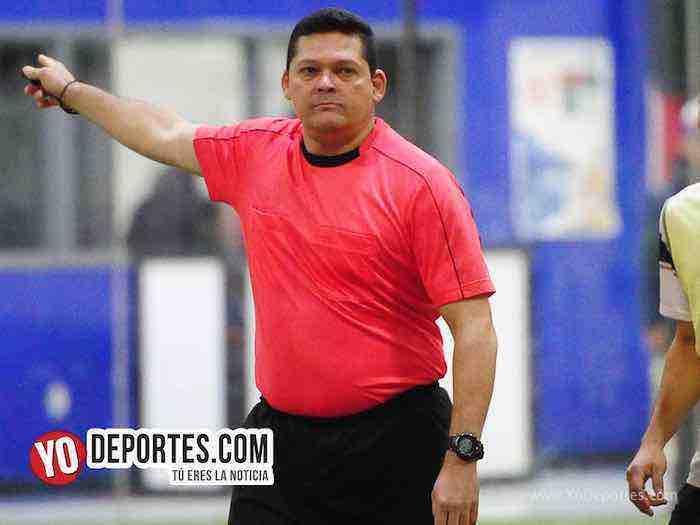 Arbitro Danilo Caballero-UNAM-Pumas Floresta-Liga 5 de Mayo
