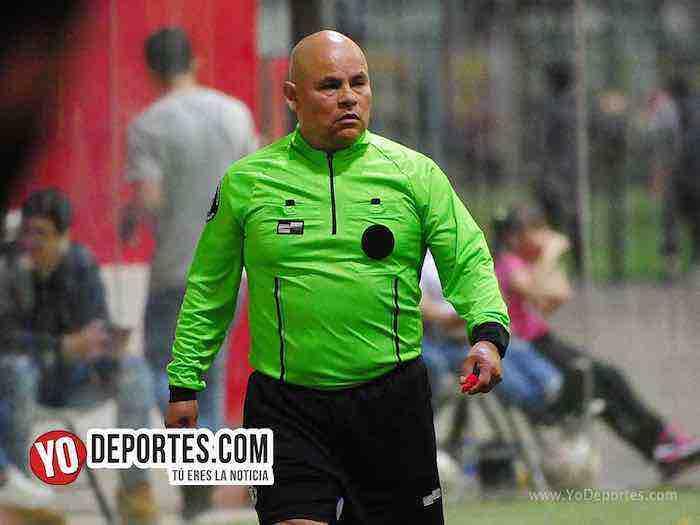 Arbitro Diego Rivera-Marquette-Decurion-Liga 5 de Mayo
