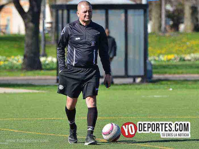 Arbitro Jesse Aguirre Deportivo Maya-Camoteros-Liga Interamericana