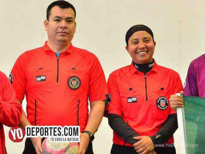 Arbitro Osvaldo Roman-Rosalba Luna-Deportivo Amistad-San Francisco-Liga Douglas