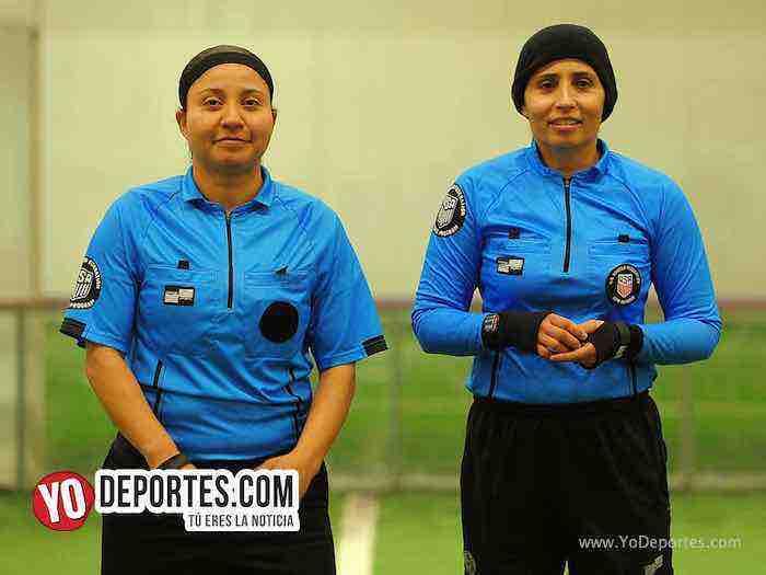 Arbitro Rosalba Luna-Carmen Contreras-Campo Hermoso-Cocodrilos-Semifinal Martes-Liga San Francisco