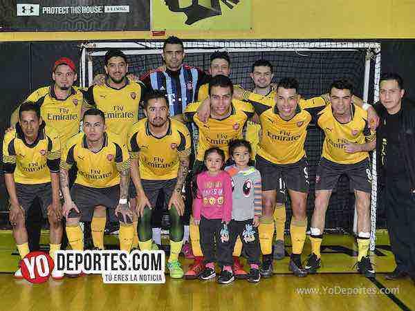 Arsenal gana su primera final y va por la triple corona del futsal en la Liga San José