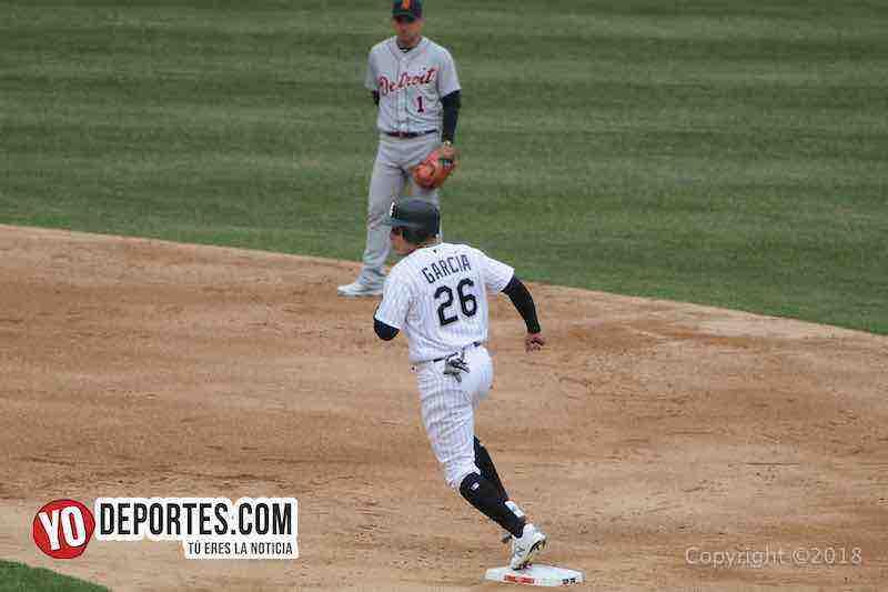 Avisail Garcia-White Sox-Tigres Detroit-Opening Day