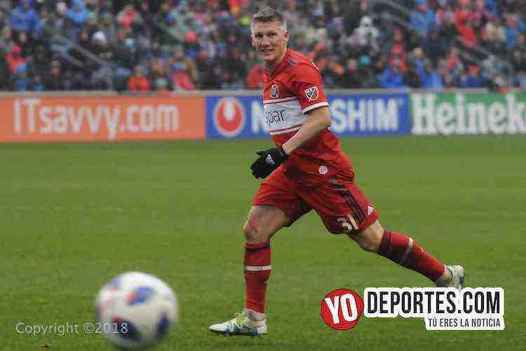 Bastian Schweinsteiger-Chicago Fire-LA Galaxy Toyota Park
