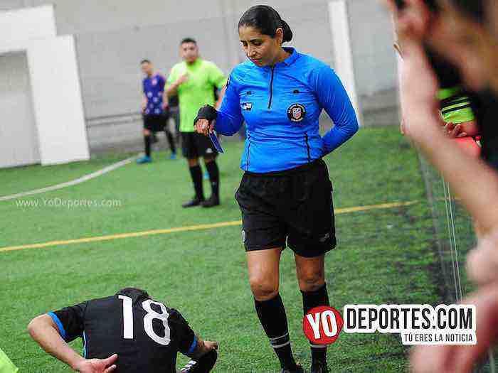 Campo Hermoso vs Cocodrilos Semifinal Martes Liga San Francisco Carmen Contreras arbitro