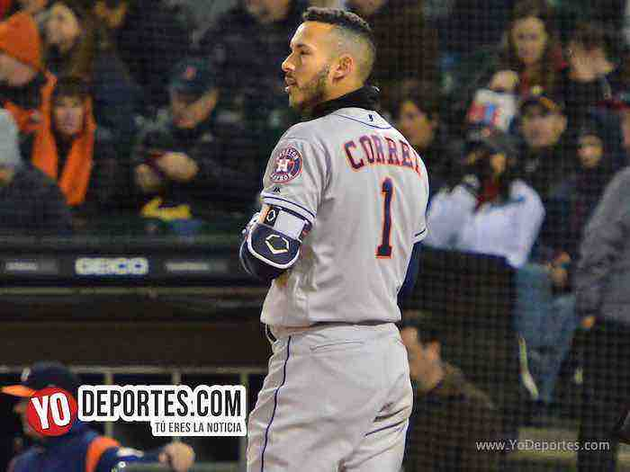 Carlos Correa-Chicago White Sox-Astros Houston