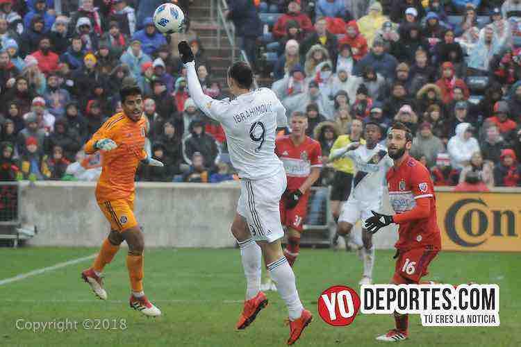Chicago Fire-LA Galaxy Toyota Park-Zlatan Ibrahimovic-
