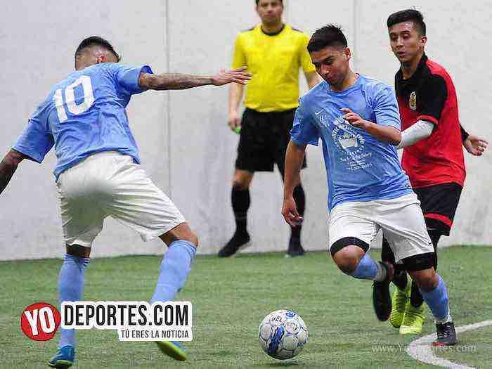 Chicago Soccer-Deportivo Guerrero-Champions-Liga Latinoamericana indoor