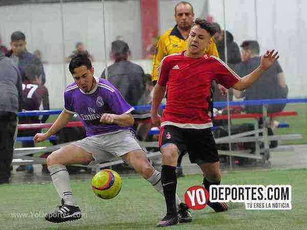 Decurion-Marquette FC-Liga 5 de Mayo Indoor futbol