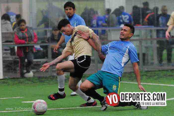 Douglas 3-2 al Yautepec en la semifinal de veteranos de la Liga San Francisco