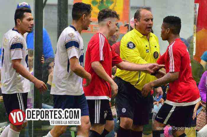 Enrique Benitez arbitro-Marquette FC-UNAM-Liga 5 de Mayo
