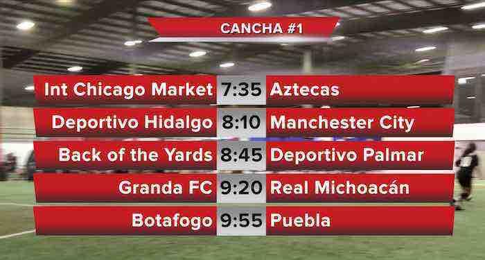 Listos los horarios de las finales este viernes en la Liga 5 de Mayo