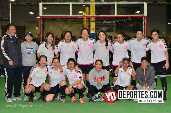 En maratón de penales Iguala gana final femenil de Windy City Soccer League
