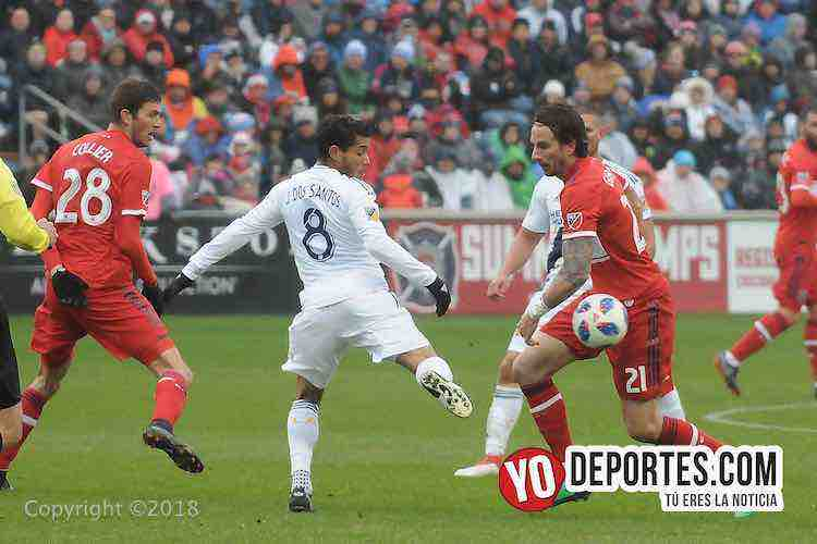 Jonathan dos Santos-Chicago Fire-LA Galaxy-Toyota Park