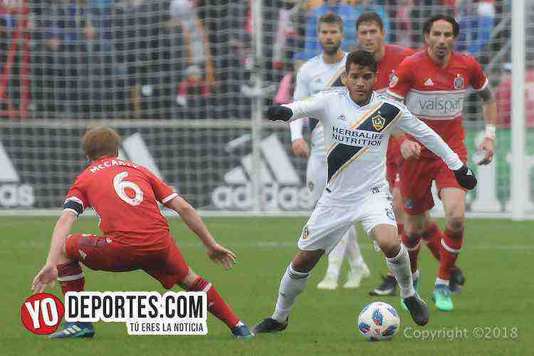 Jonathan dos Santos-Chicago Fire-LA Galaxy Toyota Park