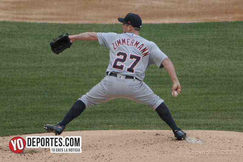 Jordan Zimmerman-White Sox-Tigres Detroit-Opening Day