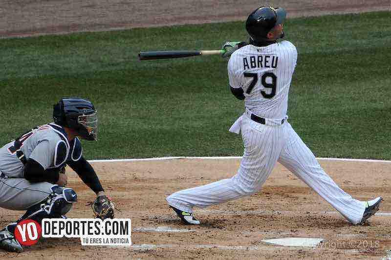 Jose Abreu-White Sox-Tigres Detroit-Opening Day