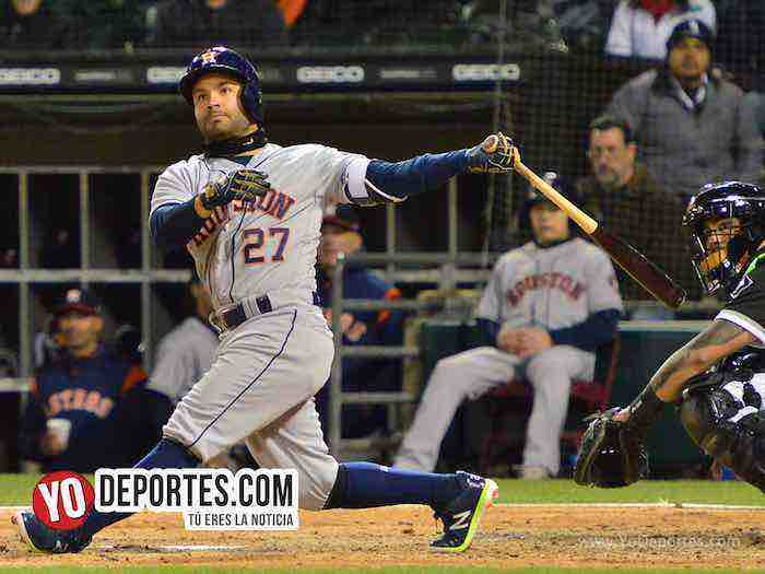 Jose Altuve-Chicago White Sox-Astros Houston