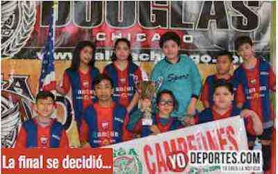 La final se decidió en penales y Marquette derrota al Deportivo 59 en la Liga Douglas Infantil