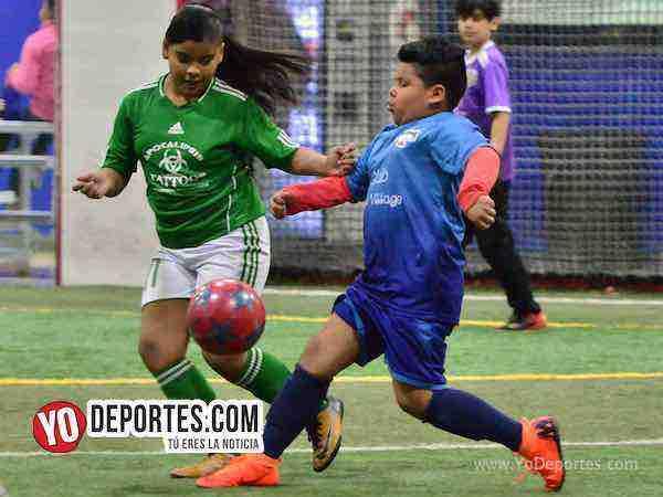 Little Village vs Latin Angels Premier Academy Soccer League-Futbol infantil