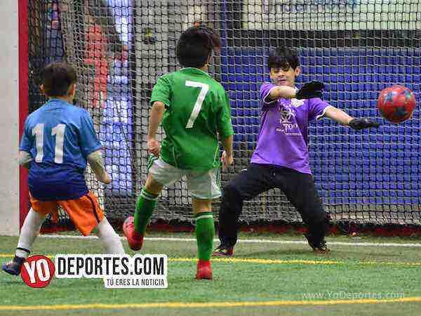 Little Village vs Latin Angels Premier Academy Soccer League portero