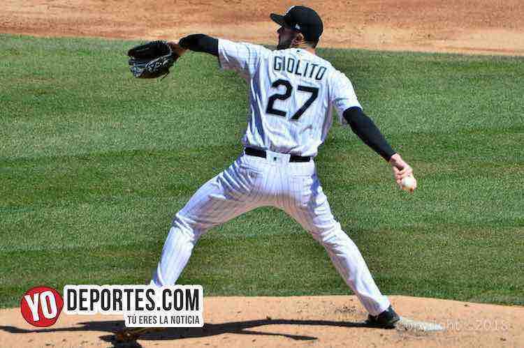 Lucas Giolito-White Sox-Detroit Tigres