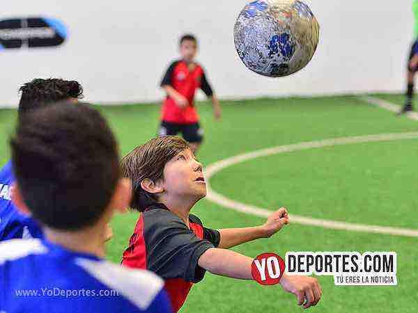 Manchester-Fire Evolution-Liga Douglas futbol infantil
