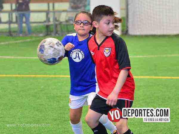 Manchester-Fire Evolution-Liga Douglas kids soccer