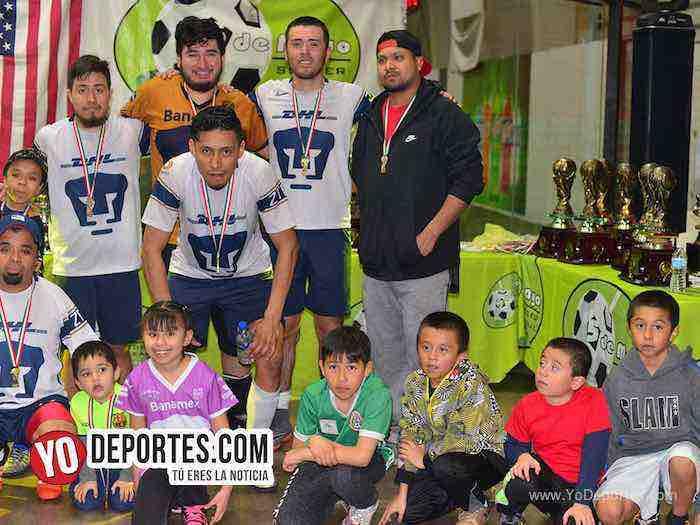 Marquette FC-UNAM-Liga 5 de Mayo Final Chicago indoor